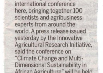 From The Citizen – Agribusiness Experts gather in Morogoro