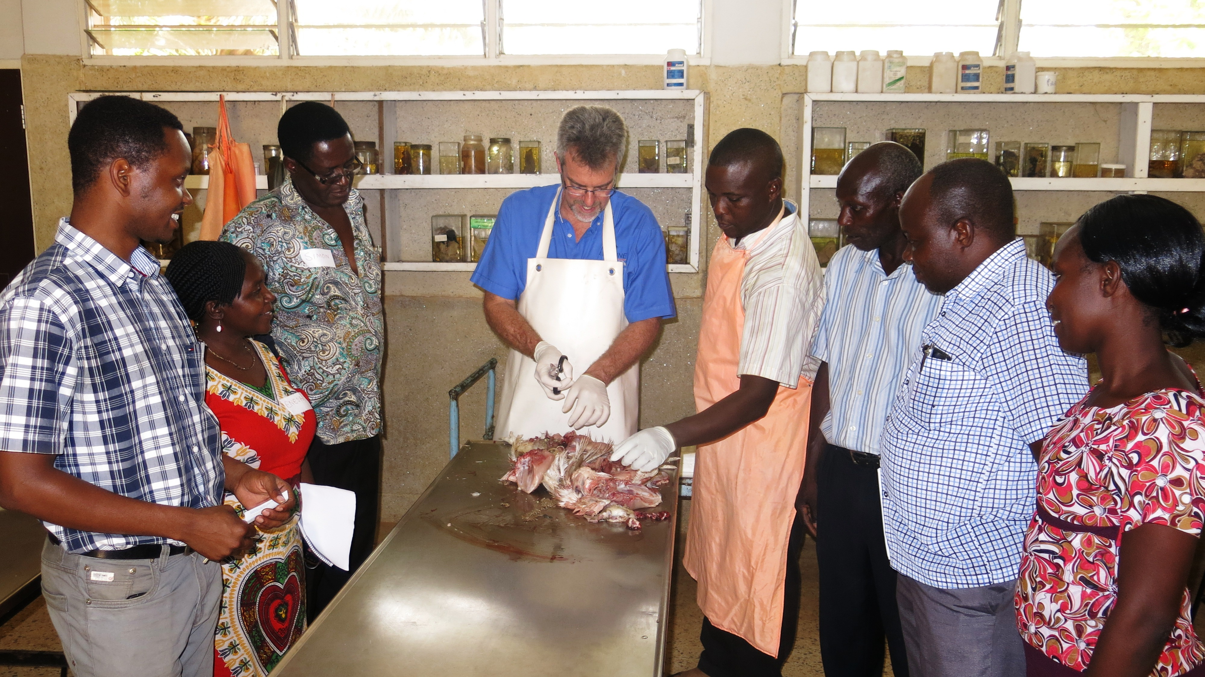 Training of Trainers on Broiler Production