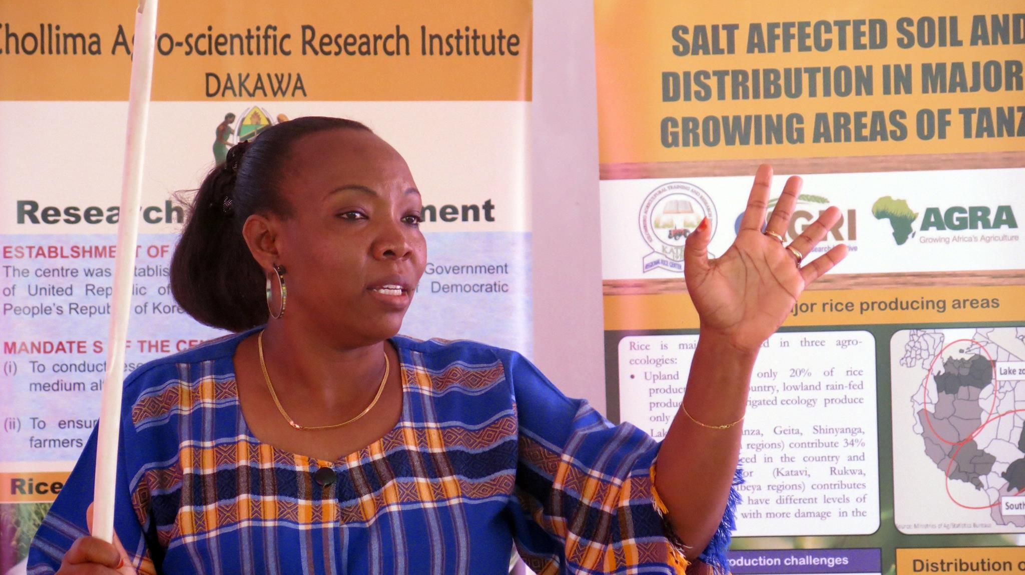 Research Presentation on Salt Affected Soil in Dakawa
