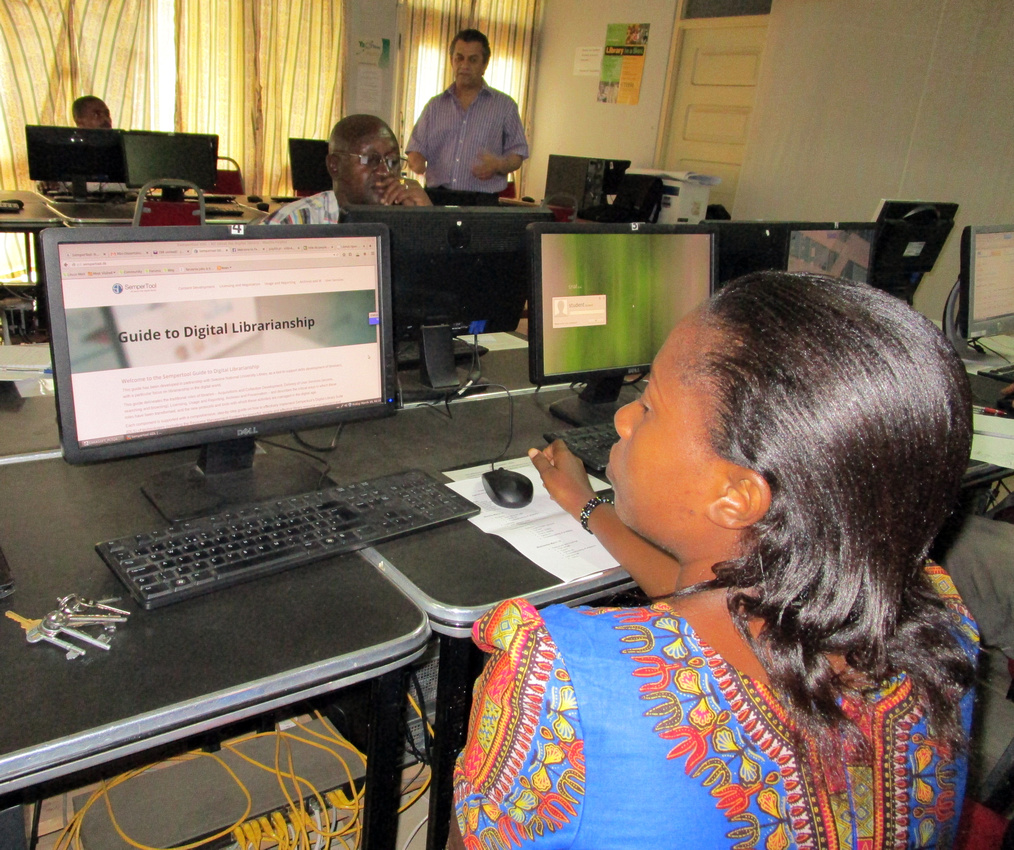 Tanzanian Universities Trained to Provide Digital Library Services