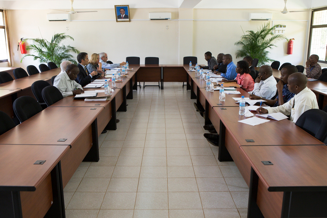 USAID, iAGRI and Sokoine University Meeting for ICT Improvement