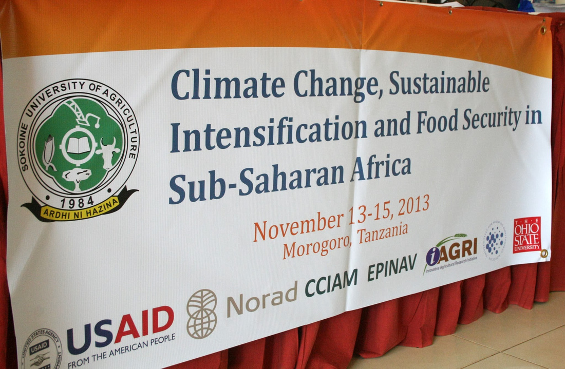 2013 Conference on Climate Change, Sustainable Intensification and Food Security