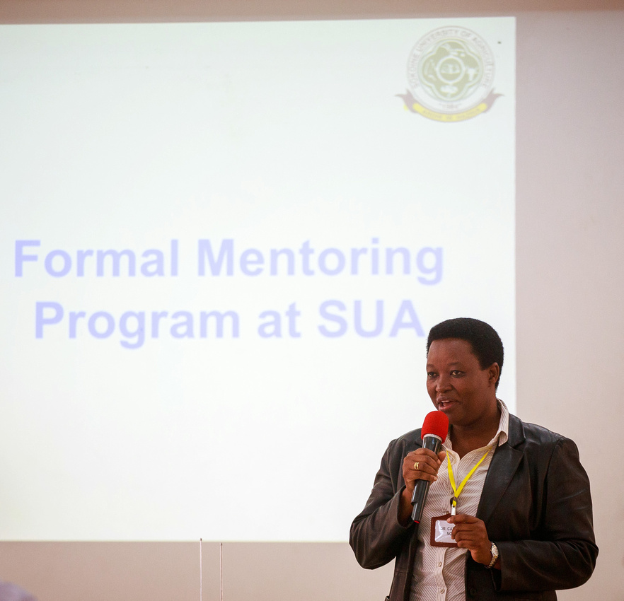 Mentoring Program at Sokoine University Kicks Off
